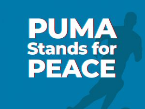 PUMA Stands For Peace