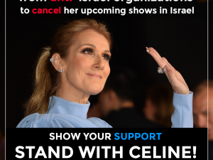 Stand With Celine!