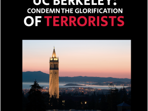 UC Berkeley: Condemn the glorification of terrorists